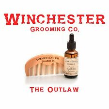 Beard Oil + Comb 'The Outlaw' Winchester Grooming Co.  Great gift !