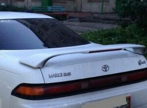 For Toyota Mark II 90 Rear Spoiler Tail Gate Wing JZX90 Unpainted 1992-1996