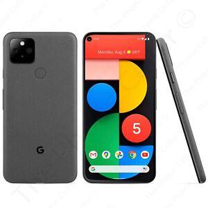 "Unlocked Google Pixel 5 5G GA01316-US 5.96"" 128GB Just Black Smartphone"