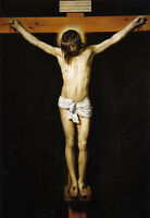 """Art Oil painting Diego Velazquez - Christ Jesus Crucified on cross canvas 36"""""""