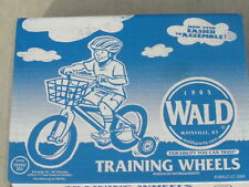"NEW! Wald Training Wheels 10252 Kids 16-20"" Bike Bicycle Support Help Childrens"
