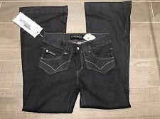 "Firetrap Blackseal Dorser-Fin High Flare Jeans  W28""/L30""  U.K. 10 Regular  £65"