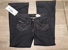 "Firetrap Blackseal Dorser-Fin High Flare Jeans  W32""/L30""  U.K. 14 Regular £65"