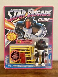 1993 New Hasbro GI Joe Star Brigade Cobra B.A.A.T. ~ Battle Armored Android #6