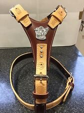 Leather Hand Made Dog Harness