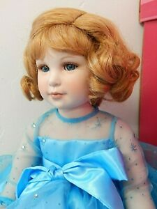 "STARRY, STARRY NIGHT 2004 Marie Osmond/Sonja Breyer 12"" Seated Porcelain Doll"