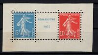 AQ140578/ FRANCE / STRABOURG / Y&T # 242A (PAIR) MINT MNH CERTIFICATE – CV 1440