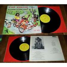 YVON ETIENNE & GG - Personne I N'Aime Nous Lp french Folk Rock