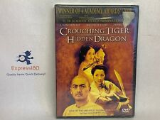 (Bs) Crouching Tiger, Hidden Dragon (Dvd, 2001, Special Edition) New and Sealed