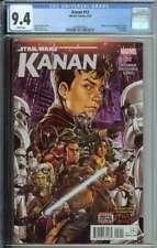 Kanan #12 CGC 9.4 Last Padawan 1st App Rae Sloan Grand Inquisitor Star Wars