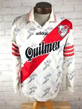 1990s Adidas Club Atletico River Plate Carp Quilmes Soccer Jersey Size Large