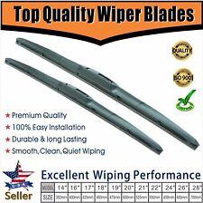 "Premium OEM Quality  Windshield Wiper Blades Wiper Replacement 14"" + 14"""