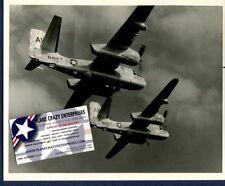 Grumman S-2 TRACKER VS-72 US Navy Official Squadron Photo
