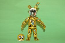 TOY MEXICAN FIGURE SPRINGTRAP FIVE NIGHTS AT FREDDY'S ANIMATRONICS 7 INCHES