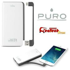 Puro Power Bank 6500Mah CaricaBatterie Portatile Universale Per Apple Lightning