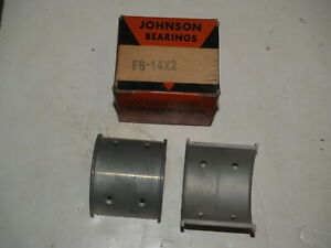 NOS 0.002 1932-1938 Ford Flathead V8 CB7 Flanged Connecting Rod Bearings - 1 set