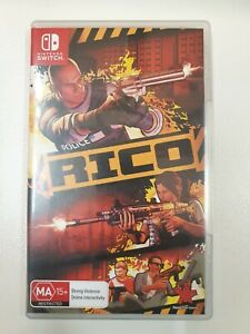 RICO - Nintendo Switch Game   Excellent Condition