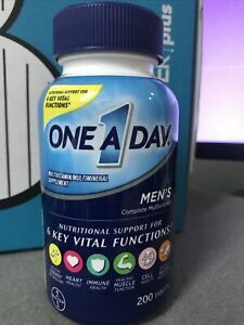 One A Day Men's Health  Multivitamin/Multimineral Supplement 200 CT Exp 05/2022