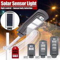 20W/40W/60W LED Solar Power Street Light Induction PIR Motion Sensor Wall Lamp