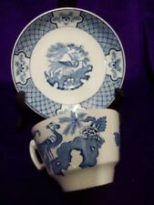 Vintage Original Cups & Saucers Tableware Woods Ware Pottery