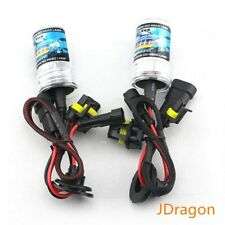2x H8 4300K Stock White 35W Replacement Xenon HID Light Bulbs Fog Driving Lights