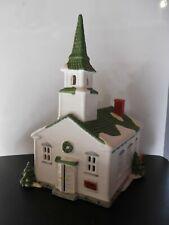 "Dept. 56, New England Village Series, ""Steeple Church"", #65390"