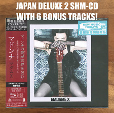 6x JAPAN BONUS TRACK - DELUXE 2x SHM-CD - HARDCOVER BOOK! MADONNA MADAME X 2019