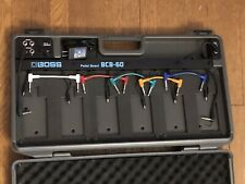 BOSS DELUXE BCB60 PEDAL BOARD CASE POWER SUPPLY PATCH CORDS ETC