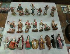 23 pastori landi 12 cm  gesu  moranduzzo benino presepe crib shepherds
