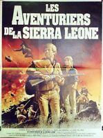 """LES AVENTURIERS DE LA SIERRA LEONE/ ROBBERS OF THE SACRED MOUNTAIN""Affiche orig"