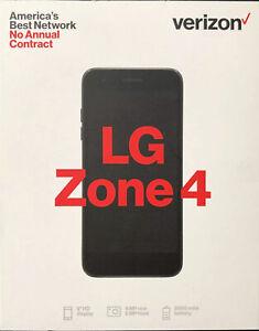 Verizon Prepaid - LG Zone 4 No Contract (Prepaid)Phone 16GB Memory Moroccan Blue
