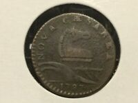 1787 30-L R-4 New Jersey Colonial Copper coin