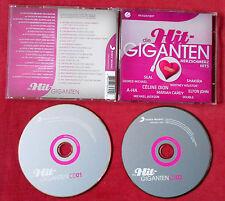 HIT GIGANTEN Herzschmerz Hits 2 CD Set w NEU Michael Jackson A-HA PINK 10CC CHER