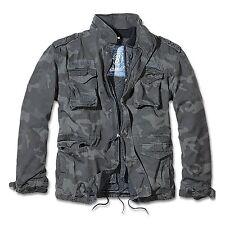 Brandit - M65 Giant Feldjacke, Parka US Style Jacke mit Futter Armee Army NEU