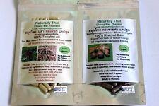 Organic Tongkat Ali & Black Ginger (Krachai Dam) Combo Pack 350mg x120 Caps