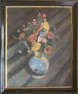 Aage Blumensaadt (1889-939): FLOWERS IN A VASE
