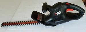 Black & Decker 3 Amp 17 in. 431mm Dual Action Electric Hedge Trimmer TR017