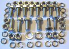 MGB Engine Mountings Chrome Bumper 1800 Fitting Kit - (Stainless Steel).