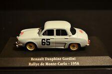 Renault Dauphine Gordini 1958 Monte Carlo #65 Atlas Diecast in scale 1/43