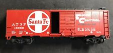 HO Santa Fe Box Car 100% Tested Lot H163