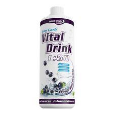 Best Body Nutrition Low Carb vital Drink Johannisbeere (1 39 Eur/100ml) Flüssigkeit 1000 Ml