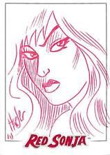 Red Sonja Ken Haeser  Sketch card b