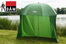 D.A.M Umbrella Green Tent + Wind shield 2.20m Multi-functional