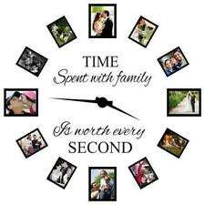 Time Spent with Family is Worth Every Second Art Wall Stickers Home Decals