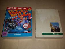 Space Quest IV - Kings Quest III / IV - Sierra Bundle - Big Box Amiga (Untested)