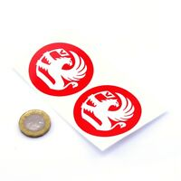 Vauxhall STICKERS Badge Decal Vinyl Car 50mm x2 Race Racing Rally 90s