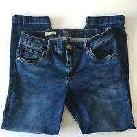 KUT from the Kloth Crop Straight Jeans Size 6 Waist 28 Inseam 24 Womens Capri