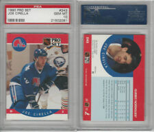1990 Pro Set Hockey, #243 Joe Cirella, Nordiques, PSA 10 Gem