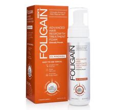 Foligain Minoxidil 5% Hair Regrowth Foam For Men (177ml) 3 Month Supply