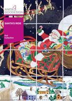 Santa's Ride Anita Goodesign Embroidery Machine Design CD 69AGHD